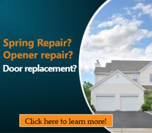 Broken Springs - Garage Door Repair Oldsmar, FL